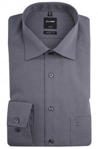 OLYMP vasalásmentes férfi ing karcsúsított szürke