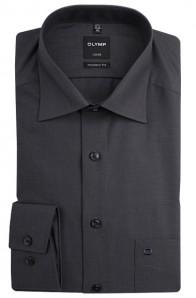 OLYMP vasalásmentes férfi ing karcsúsított sötétszürke