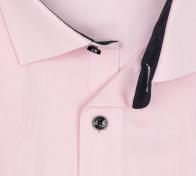 OLYMP vasalásmentes férfi ing karcsúsított rózsaszín mintás - gallér