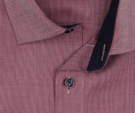 OLYMP vasalásmentes férfi ing karcsúsított bordó mintás - gallér