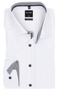 OLYMP vasalásmentes férfi ing karcsúsított fehér