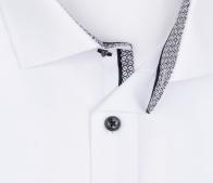 OLYMP vasalásmentes férfi ing karcsúsított fehér - gallér