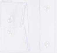 OLYMP vasalásmentes férfi ing karcsúsított fehér anyagában csíkos - mandzsetta