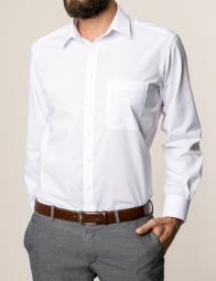 eterna vasalásmentes férfi ing fehér - modell