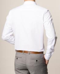 eterna vasalásmentes duplán karcsúsított férfi ing fehér - modell hát