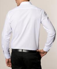 eterna vasalásmentes karcsúsított férfi ing fehér - modell hát