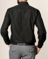 eterna vasalásmentes férfi ing fekete - modell hát