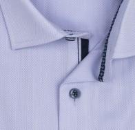 OLYMP vasalásmentes férfi ing orgonalila anyagában mintás - gallér