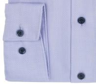 OLYMP vasalásmentes férfi ing karcsúsított orgonalila anyagában mintás - mandzsetta