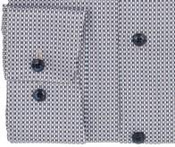 OLYMP vasalásmentes férfi ing karcsúsított barna-sötétkék mintás - mandzsetta
