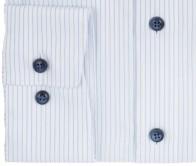 OLYMP vasalásmentes férfi ing világoskék csíkos - mandzsetta