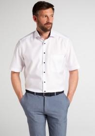 eterna vasalásmentes férfi ing rövid ujjú fehér - modell