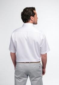 eterna vasalásmentes férfi ing rövid ujjú fehér - hát