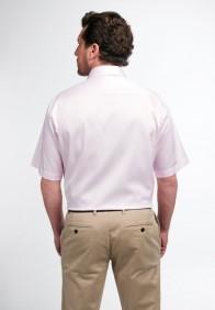 eterna vasalásmentes férfi ing rövid ujjú rózsaszín - hát
