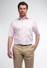 eterna vasalásmentes férfi ing rövid ujjú rózsaszín - modell