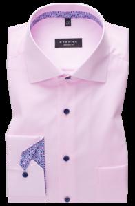 eterna vasalásmentes férfi ing rózsaszín