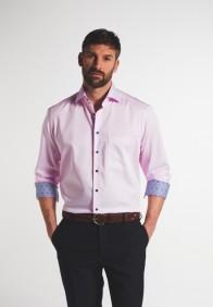 eterna vasalásmentes férfi ing rózsaszín - modell