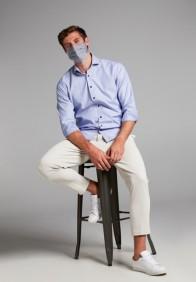 eterna férfi maszk szürke - modell