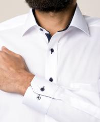 eterna vasalásmentes férfi ing fehér - mandzsetta