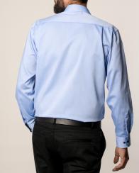 eterna vasalásmentes férfi ing kék - hát