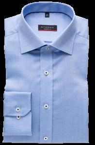 eterna vasalásmentes karcsúsított férfi ing kék