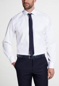 eterna vasalásmentes karcsúsított férfi ing fehér (cover shirt) - modell
