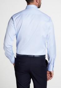 eterna vasalásmentes karcsúsított férfi ing világoskék hosszított ujjú - hát