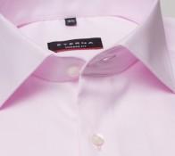 eterna vasalásmentes karcsúsított férfi ing rózsaszín (cover shirt) - gallér