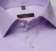 eterna vasalásmentes karcsúsított férfi ing lila (cover shirt) - gallér