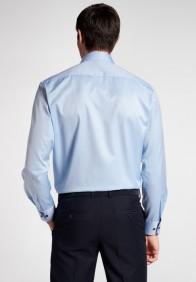 eterna vasalásmentes férfi ing világoskék cover shirt - hát