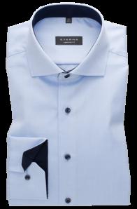 eterna vasalásmentes férfi ing világoskék cover shirt