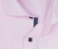 eterna vasalásmentes férfi ing rózsaszín - gallér