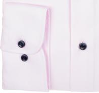 eterna vasalásmentes duplán karcsúsított férfi ing rózsaszín - mandzsetta