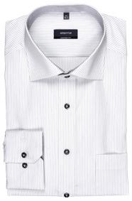 eterna szürke csíkos ing